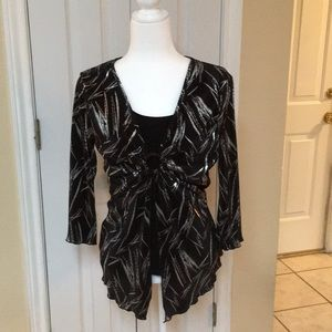 Brittany Black blouse